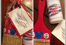 Disney Cruise Fish Extender Gift Ideas / Going on a Disney Cruise? Learn everything you need to be part of a Fish Extender exchange groups. Tons of great ideas to put in those Fish Extenders!