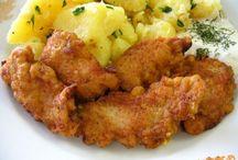 Slané recepty / Vaření ,pečení ,smažení.....