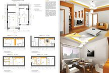 Interior projects - layouts