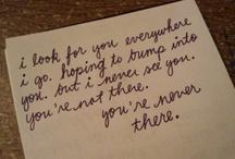 written down