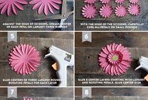 Blumen selber herstellen