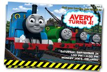 Parties : Thomas the Train Birthday