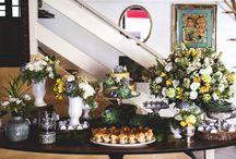 Casamento Marakuthai / Decoração rústica casamento restaurante Marakuthai