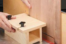 Tischkreissäge / Tools und Hilfsmittel für die Tischkreissäge