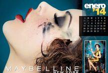 Maybelline Calendar 2014