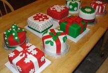 Karácsonyi torták, figurák, muffinok