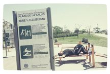 Paseo y deporte por el Parana