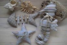 tengeri dekorációk