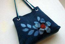 Bags 5 /Jeans bags / szuper táskák farmer anyagból