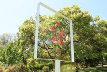 Sculptures by Deborah Moss / Sculptures created by NZ artist Deborah Moss