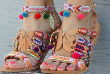 Sandals handmade ideas