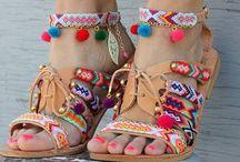 Sandals handmade ideas