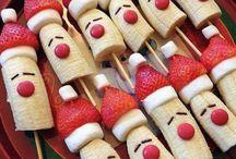 Christmas inspired food
