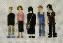 Cross stitchin