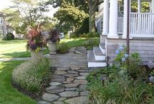 """Hingham, MA - Fences and gates / Lovely landscaping, fences, arbors, gates, and gardens in Hingham, MA.  Turn to AVO Fence & Supply to create YOUR """"Beautiful Borders""""."""