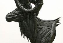 Yong Ho Ji / Jo Yong Ho is a Korean artist that transform tires in sculptures