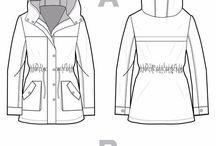 Raincoat sewing