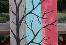 Maľovanie na dosky