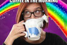 Make me coffee, make me smile