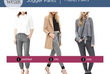 Trend We Love: Jogger Pants / Comfort has never looked so chic! See how we're styling comfy jogger pants for every occasion.