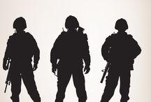 ARMY siluet