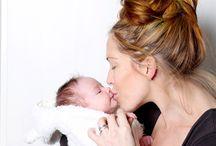 Leo & I / My baby daughter & me