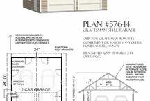 Garage Plans / by Shelley Conyers