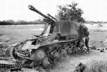 Modelling - German Pz SPG Wespe, Hummel...