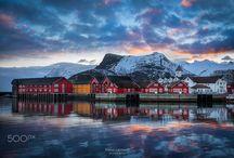 Svolvær the heart of Lofoten