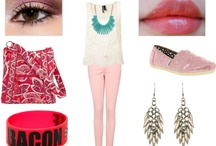 What I came up with in Polyvore! / by Sarah Phan