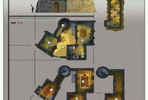plan bâtiment fantasy