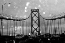 Behind the Glass. / Golden Gate Bridge - Puente de San Francisco — en Puente Golden Gate