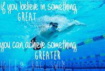 Swimming greatness