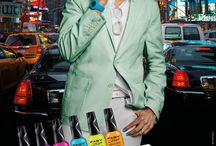Karim Rashid - Love Kolor / 1st collection designed by Karim Rashid for Faby