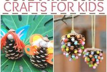 Crafting with kids