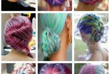 coiffures de fées...