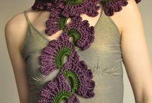 Crochet Scarf and Shawl