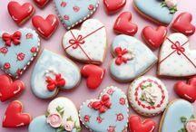Valentine cookies / Valentine cookies