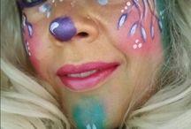 schmink voorbeelden carnaval