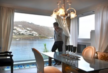 Noah luxurious Villa / Noah's Villa is an intimate luxury villa of Kivotos Luxury Boutique Hotel Mykonos, built in three levels, which provides its guests with extreme privacy. Noah Villa is ideally located next to our private beach.