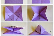 Origami e scatoline