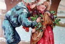 Новый год ретро открытки