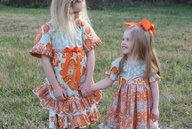 "Girls/ Children Dress, ""Bonnie Bairn Boutique"" / https://www.facebook.com/pages/Bonnie-Bairn-Boutique/265842673454602  my Face book page, toddler dress / by Laura Melton"