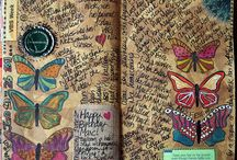 Art Journaling Love: Birds, Butterflies, and Bees / by Crafty Lou