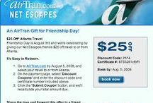 """AirTran Coupon Codes 2017: Save 50% Promo Code / Enjoy up to 50% discount with AirTran Coupon Codes 2017 or Promo Code at Promo-code-land.com. AirTran Airlines was founded in 1992 and become one of the best Airline in United State, offer best airline service to their customers at less cost, also offer best wifi services in flights, their mission statement sets the standard to """"Be the Best"""" in everything they do every day."""