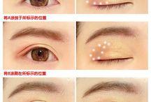 Japanese/Korean make up / Tutorial