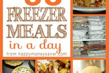 Freezer meals and Crockpot cooking