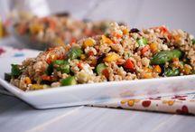 Rice/quinoa/lentils