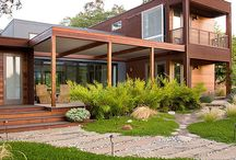 Modern Porch Styles / by Mary @ Front Porch Ideas and More