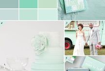 Mint Wedding Trends / All wedding details featuring the very popular color, Mint!